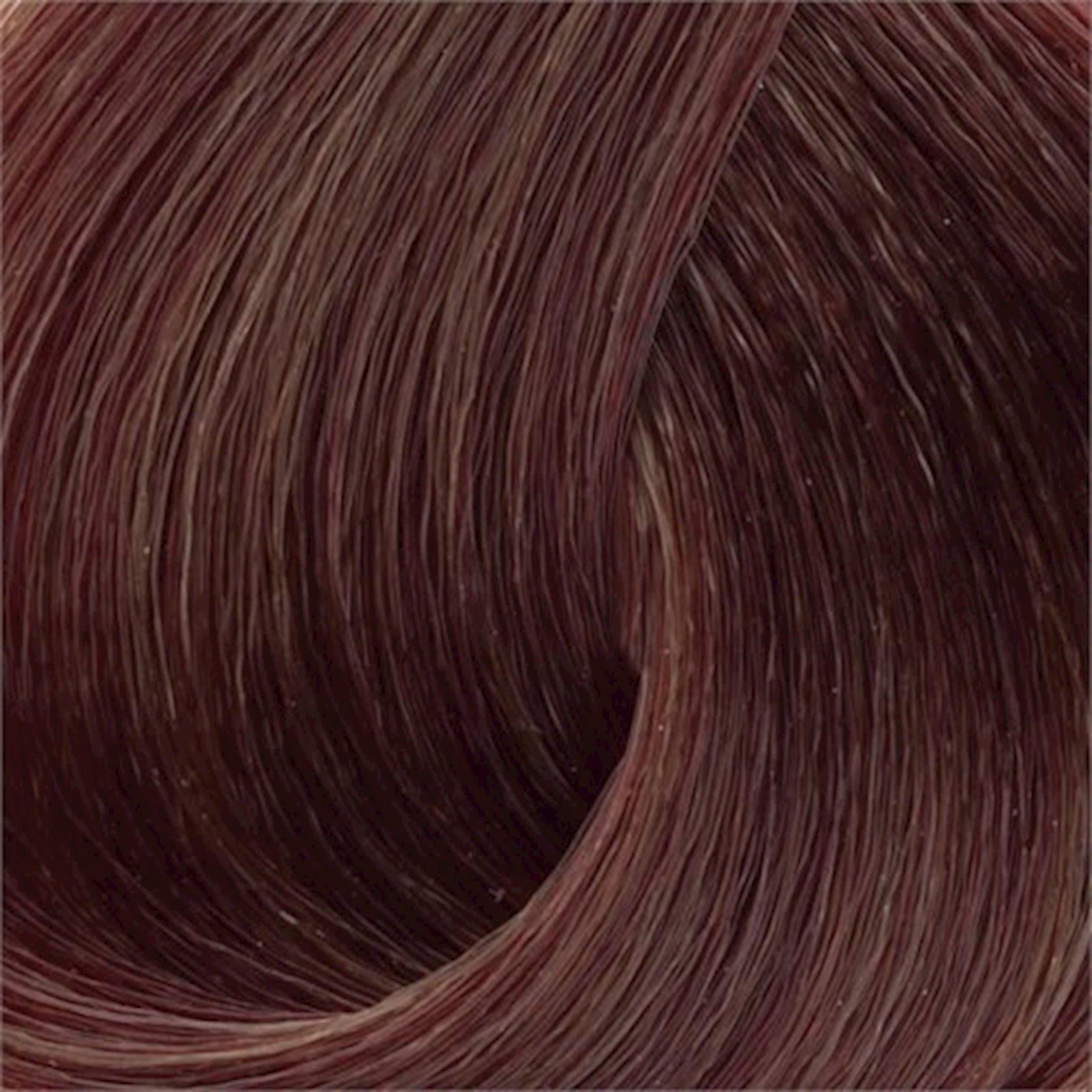 Saç üçün qalıcı krem boya Exicolor Permanent Hair Color Cream 100 ml №6.77 Kestane Kahve, Şabalıdı qəhvə