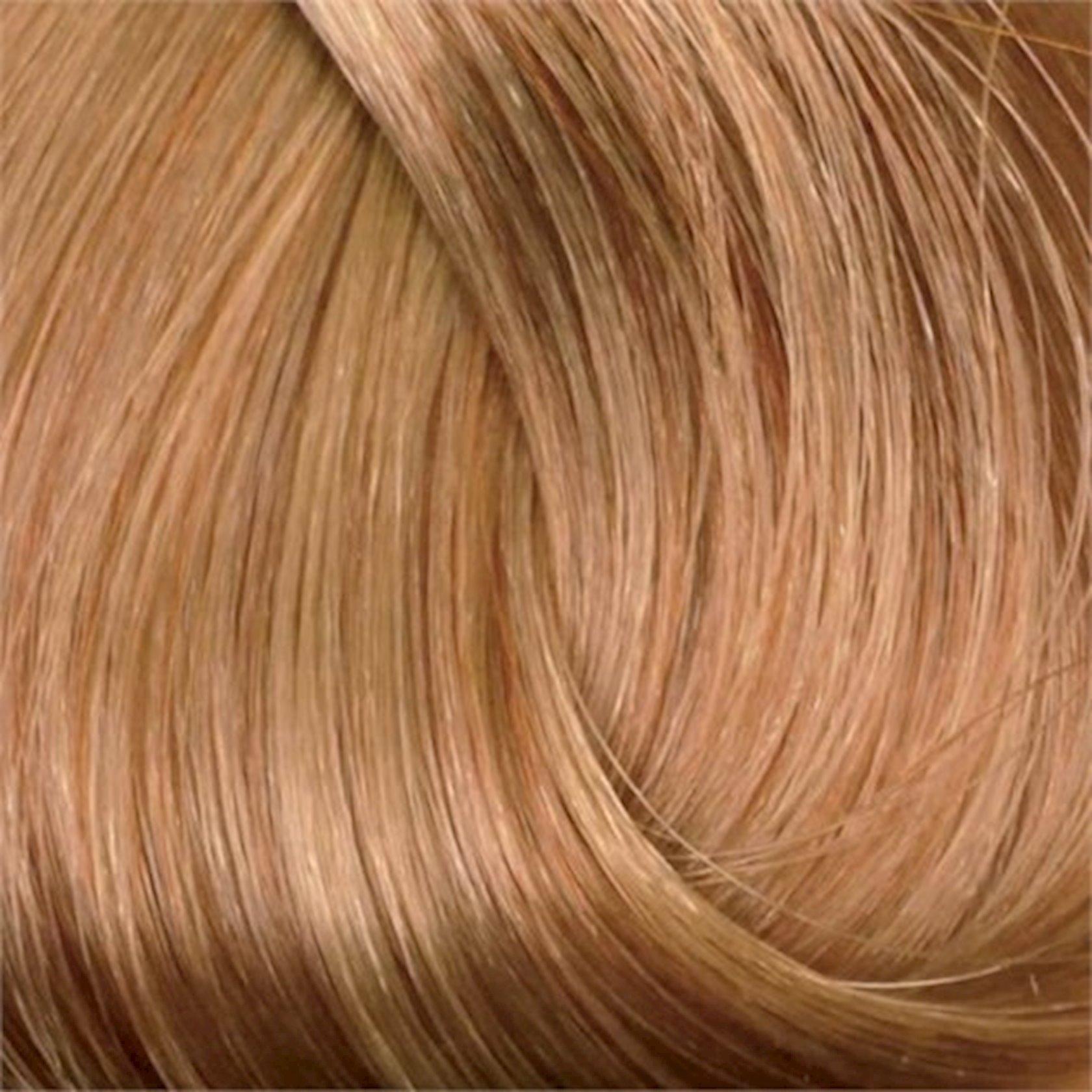Saç üçün qalıcı krem boya Exicolor Permanent Hair Color Cream 100 ml №8.73 Açık Kumral, Açıq şabalıdı