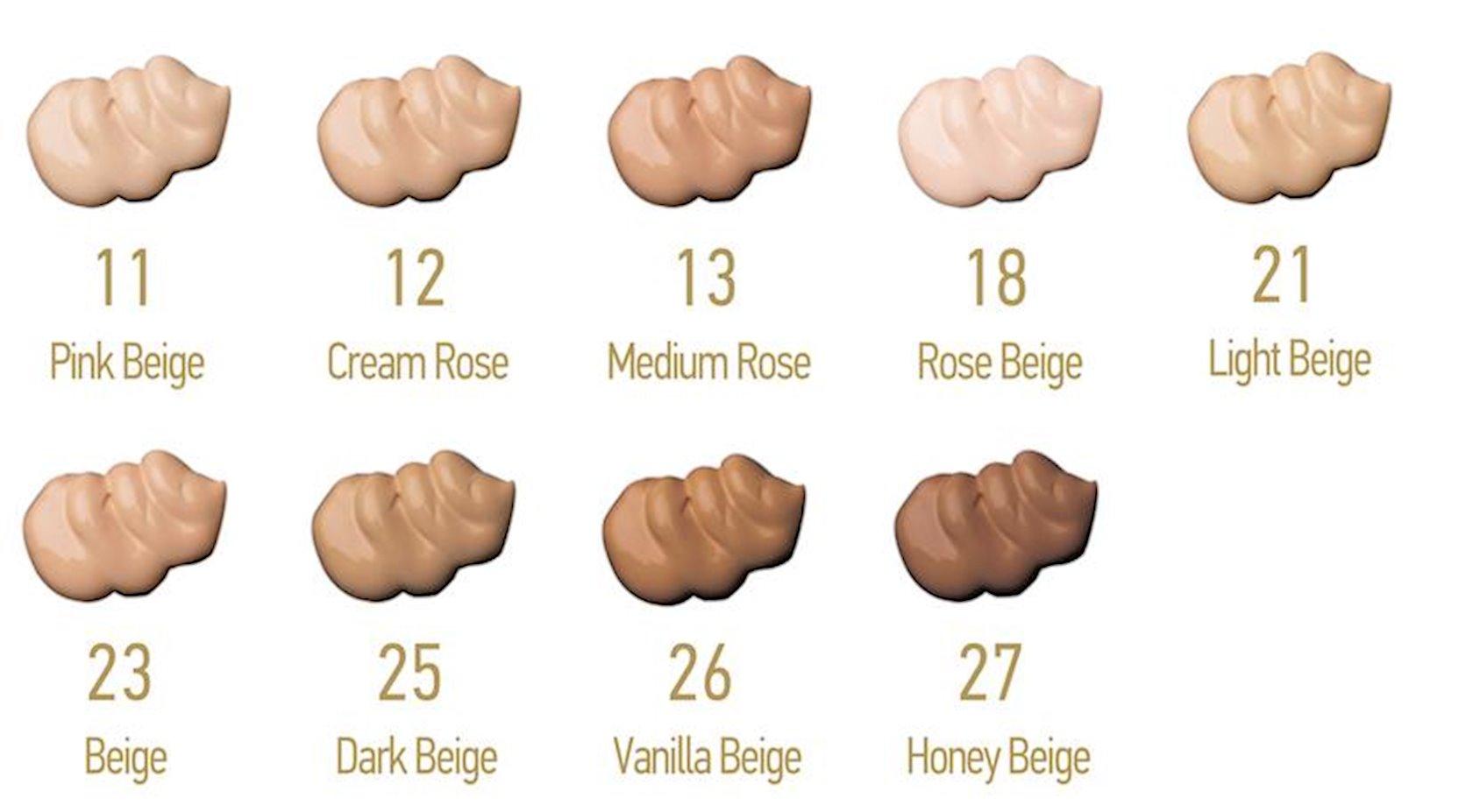 Tonal krem Catalina Geo Fisso Foundation 11 Pink Beige, 40 ml