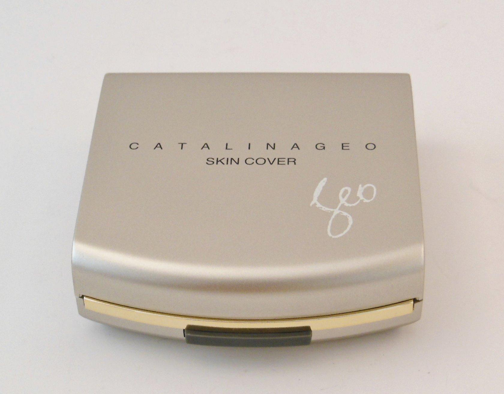Kompakt krem-kirşan Catalina Geo Skin Cover 11 Pink Beige, 13 q