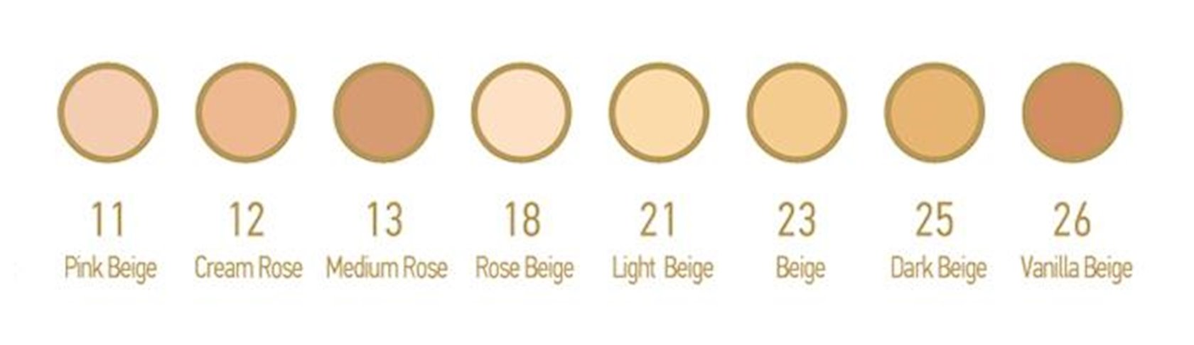 Kompakt krem-kirşan Catalina Geo Skin Cover 13 Medium Rose, 13 q