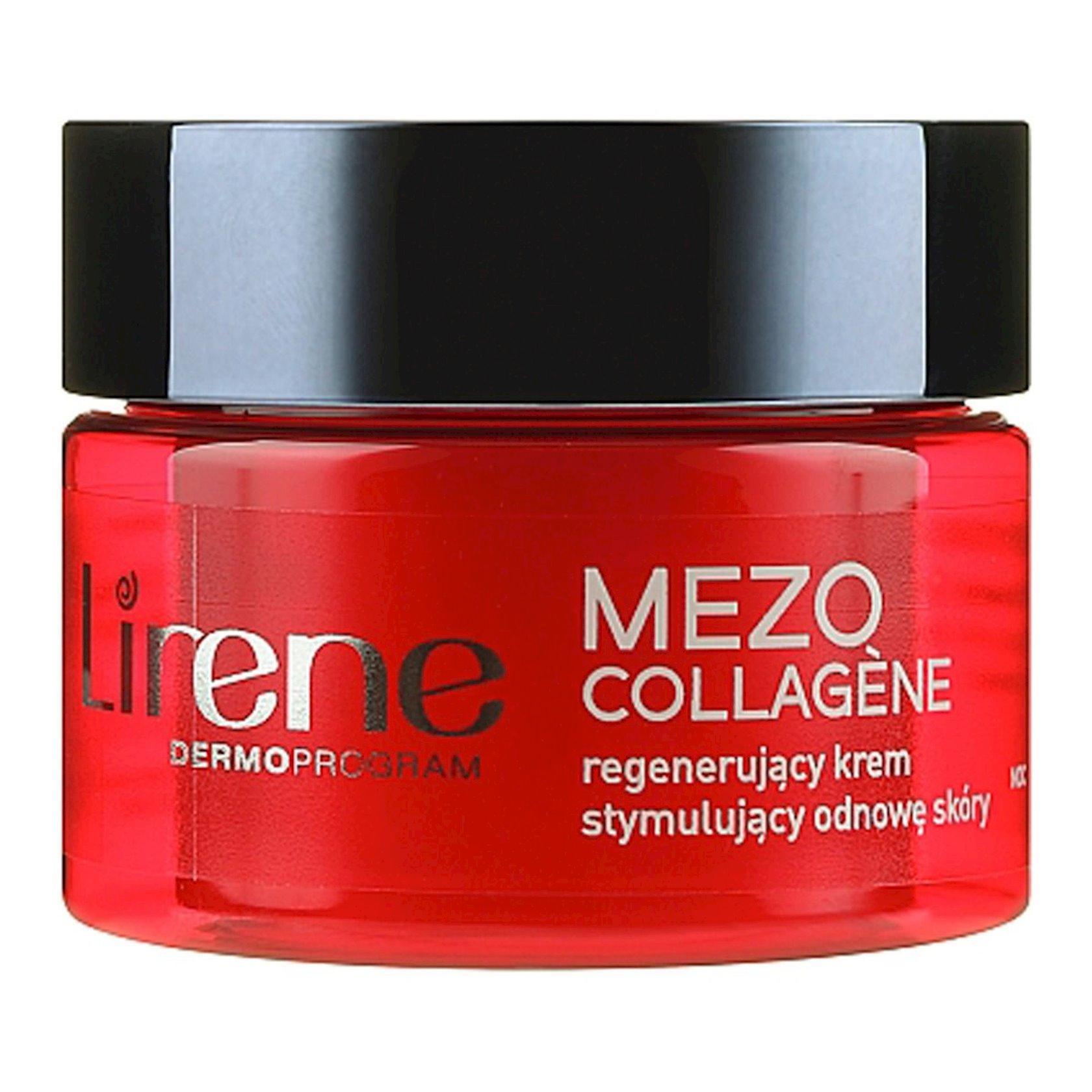 Qırışlara qarşı gecə kremi Lirene Mezo Collagene, 50 ml
