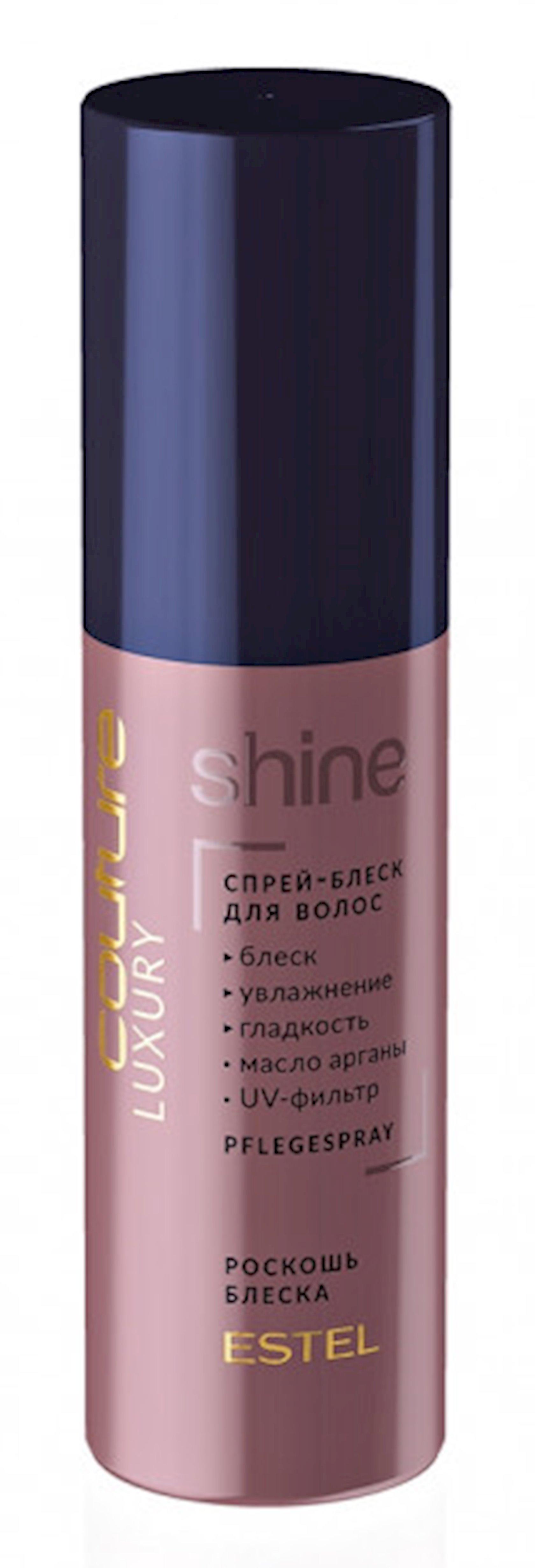 Saç üçün parıltılı sprey Estel Professional Luxury Shine Haute Couture 100 ml