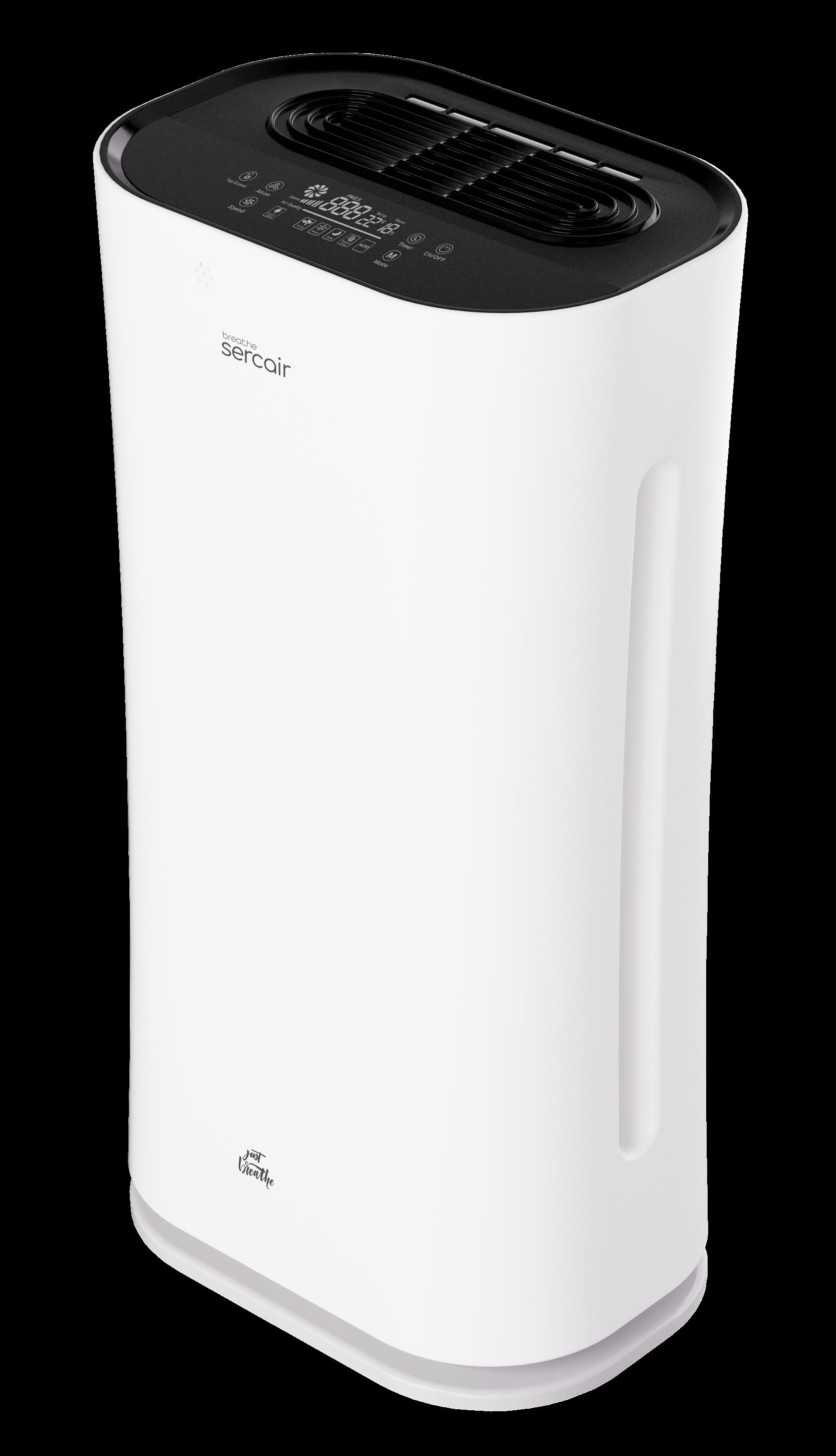 Hava təmizləyici Sercair Breathe Air Purifier HEPA filter, UV sistemli