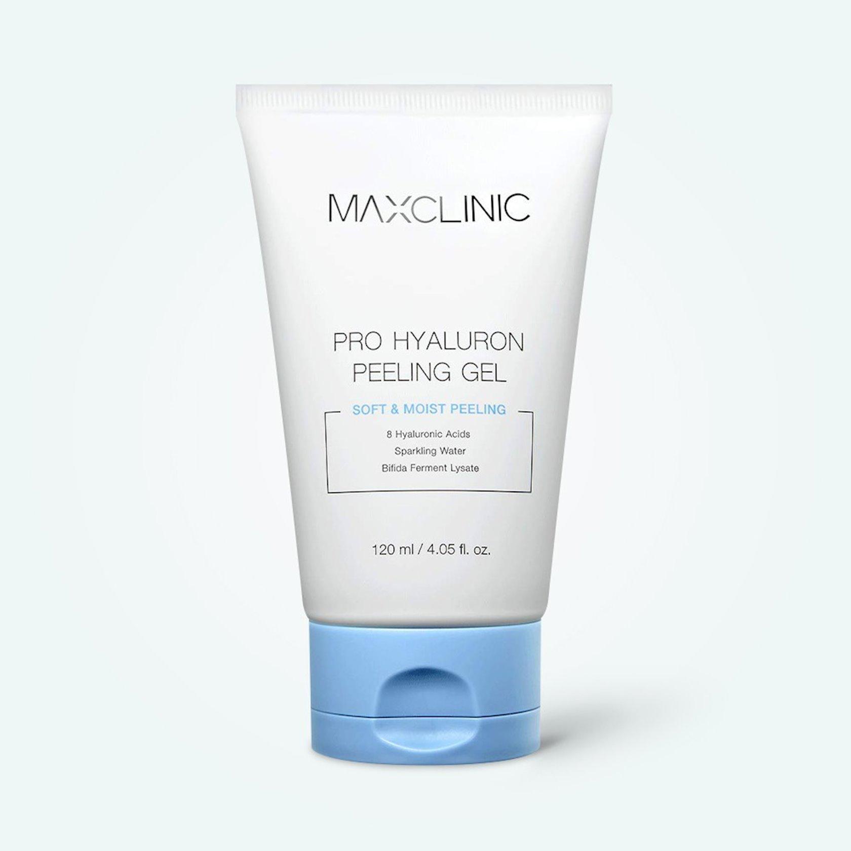 Pilinq-gel hialuron turşusu ilə Maxclinic Pro Hyaluron Peeling Gel 120 ml