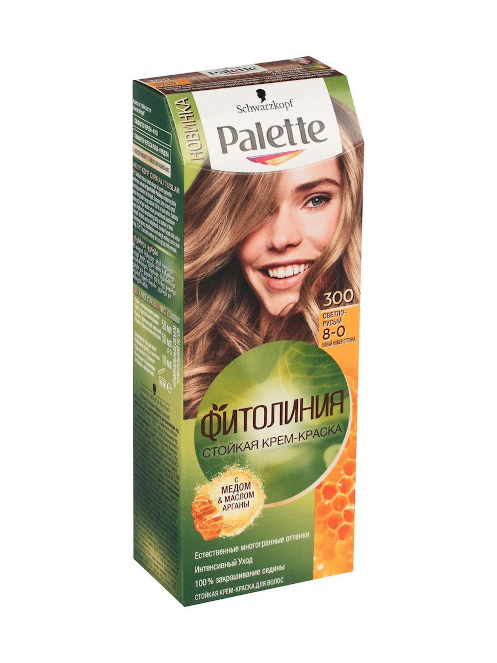Saç boyası Palette Fitoliniya 300 8-0 Açıq xurmayı