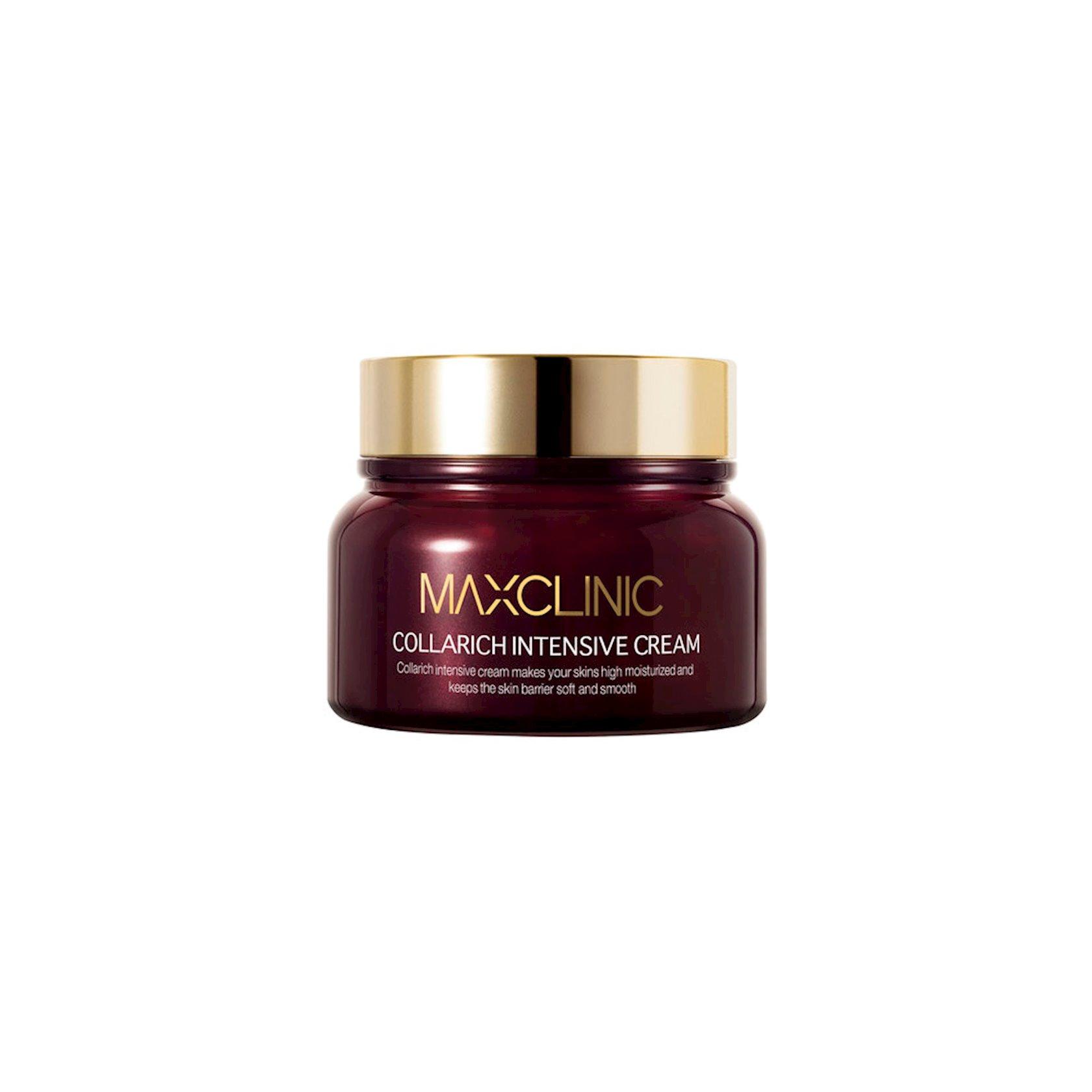 Üz üçün krem kollagen və seramid ilə  Maxclinic Collarich Intensive Cream 50 q