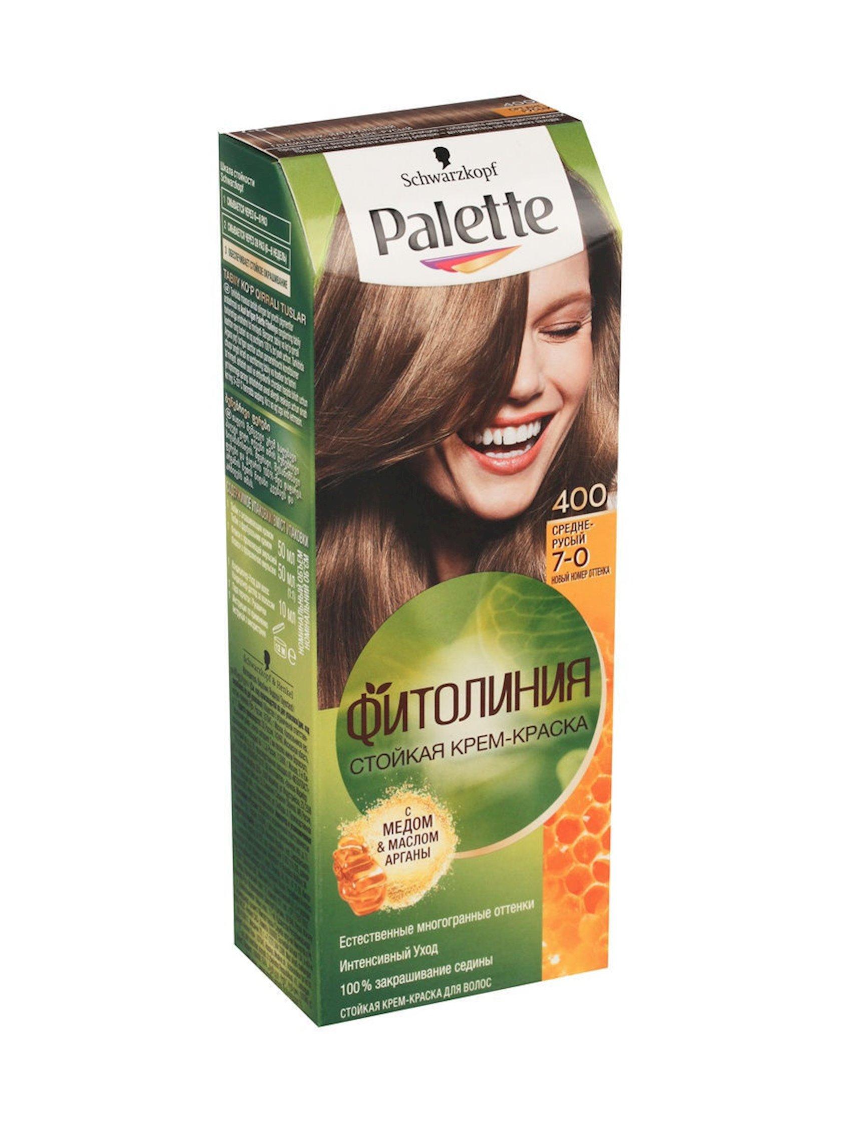 Saç boyası Palette Fitoliniya 400 7-0 Orta xurmayı