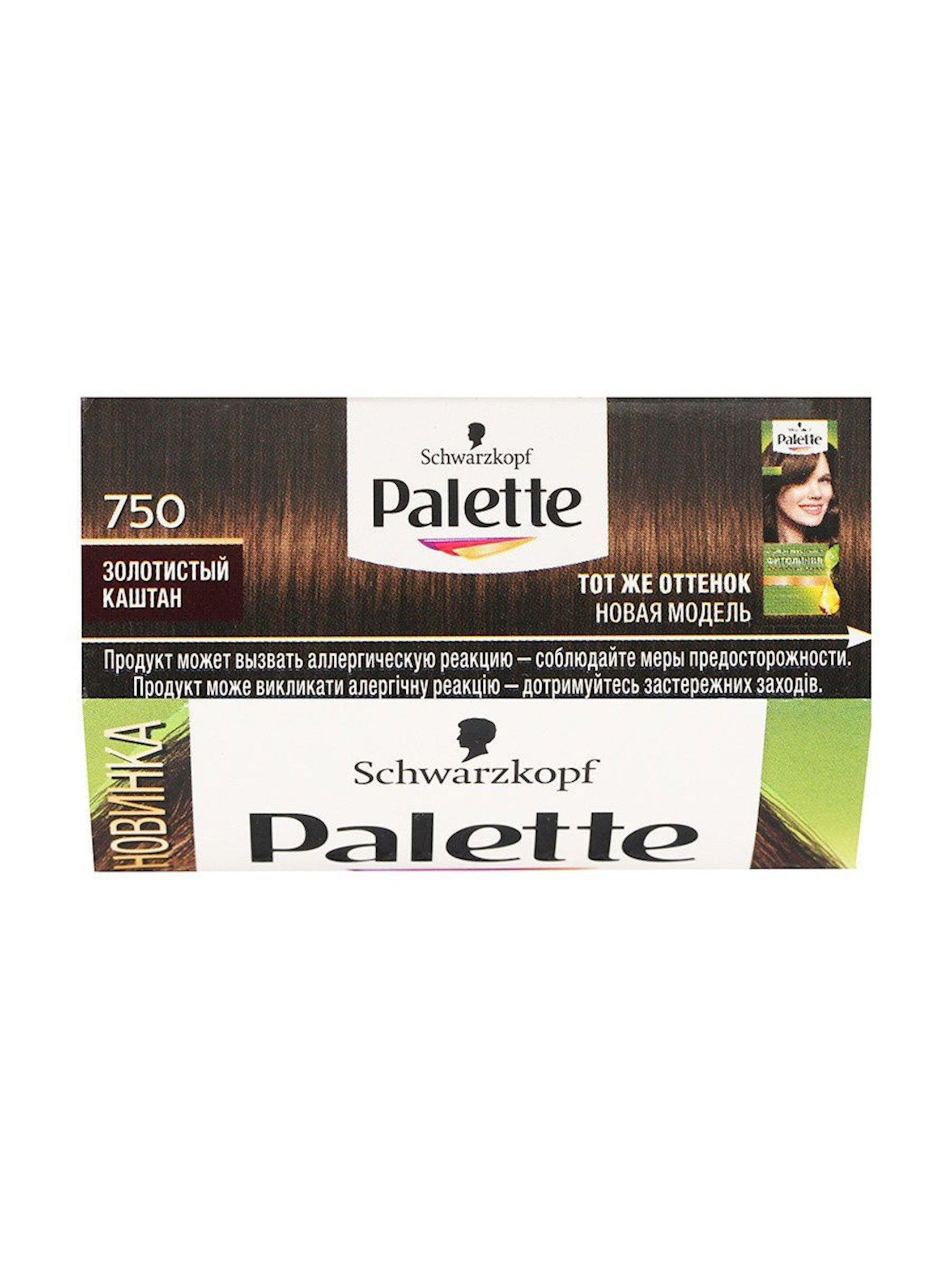 Saç boyası Palette Fitoliniya 750 4-60 Qızılı şabalıd