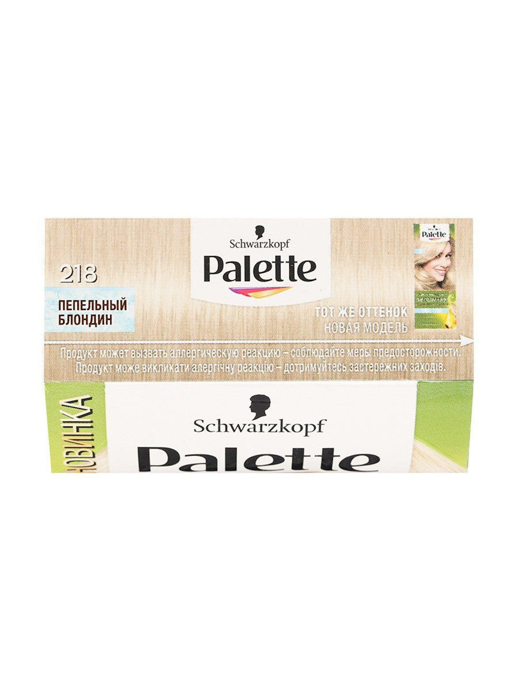 Saç boyası Palette Fitoliniya 218 10-1 Kül sarışın