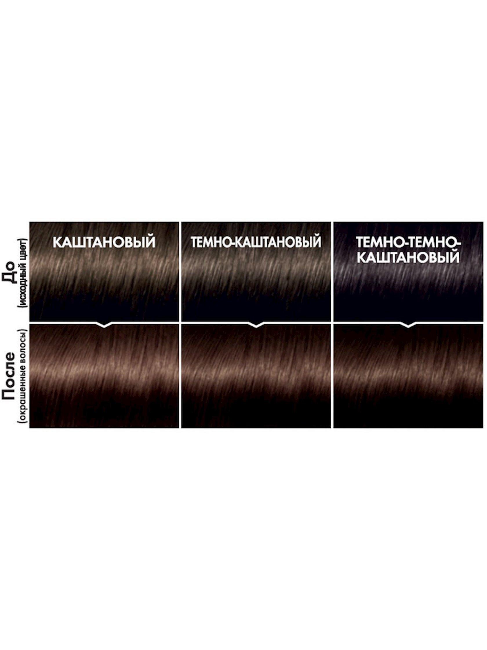 Saç üçün qalıcı krem-boya L'Oreal Paris Casting Creme Gloss ammonyaksız 323 Tünd şokolad