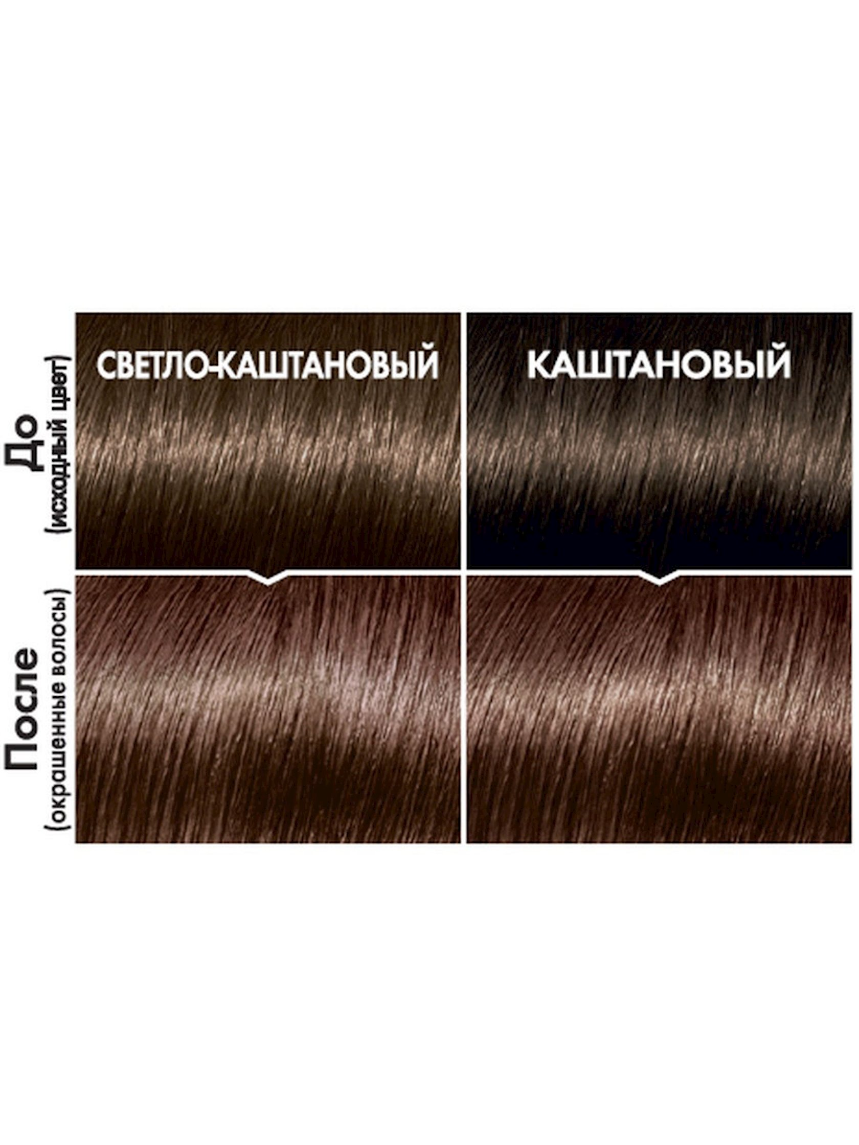 Saç üçün qalıcı krem-boya L'Oréal Paris Casting Creme Gloss ammonyaksız 415 Buzlu şabalıd