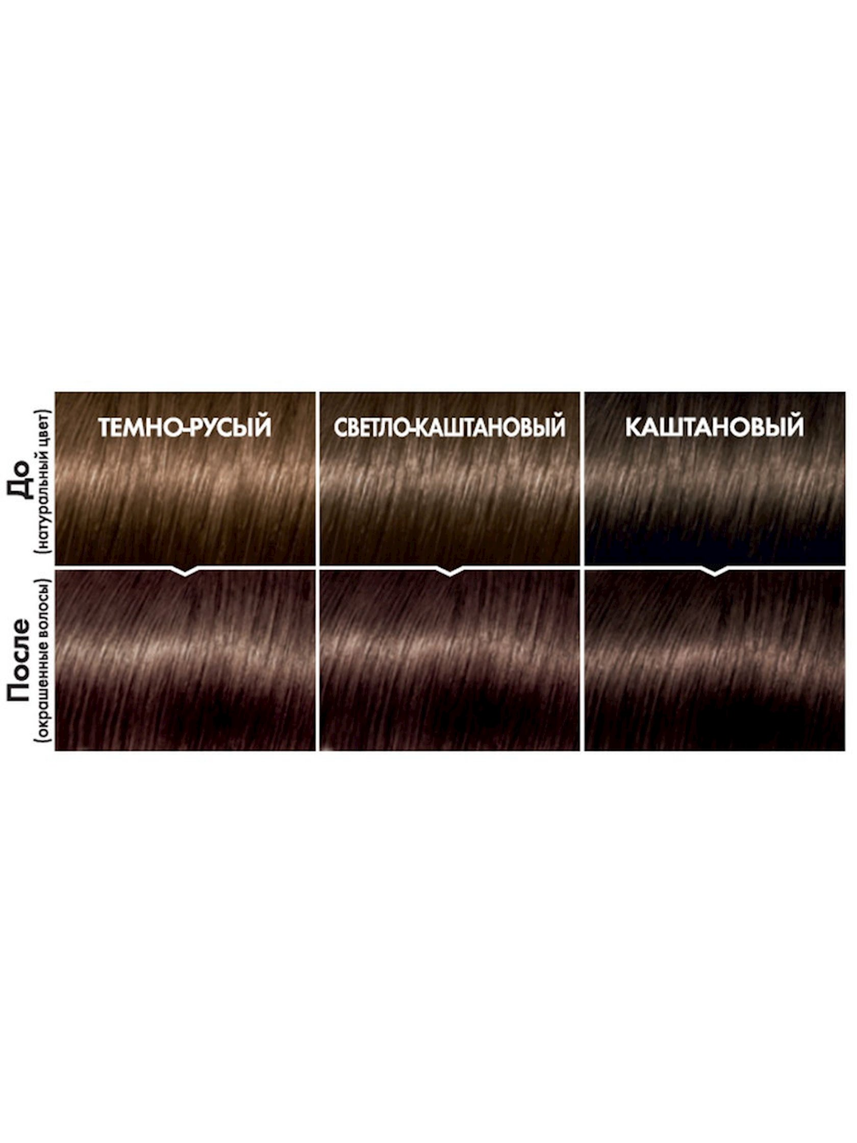 Saç üçün qalıcı krem-boya L'Oreal Paris Casting Creme Gloss ammonyaksız 515 Buzlu şokolad