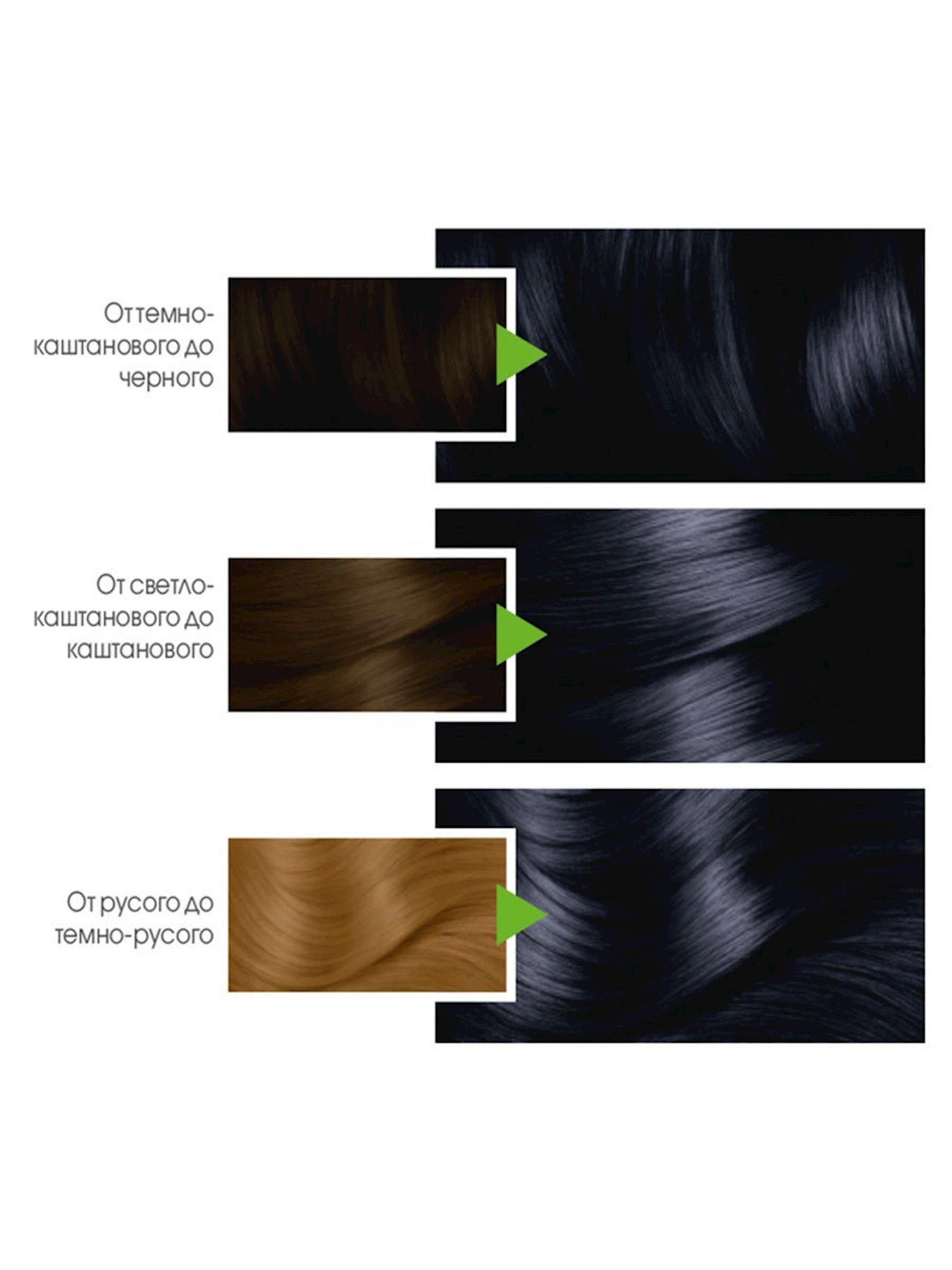 Saç üçün qalıcı krem-boya Garnier Color Naturals 2.10 Mavi-qara