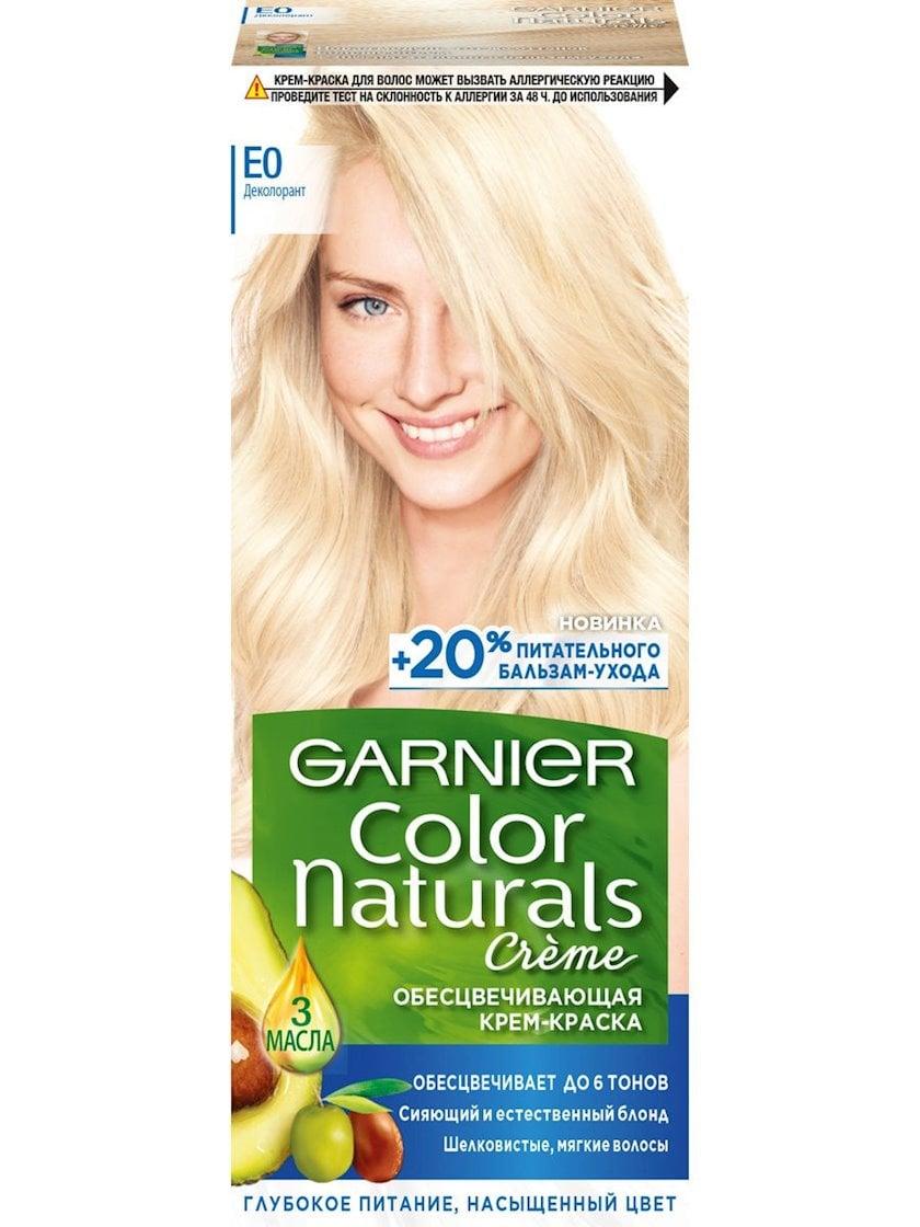 Saç üçün qalıcı krem-boya Garnier Color Naturals E0 Super blond