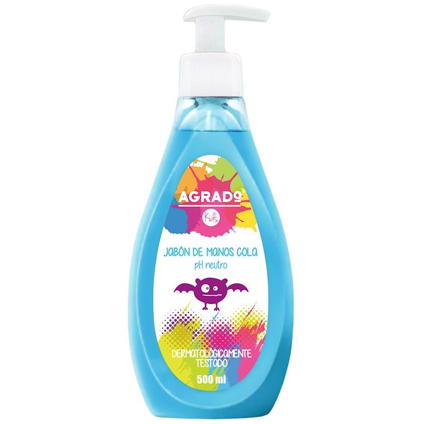 Uşaq maye sabunu Agrado Kids Cola Hand Soap, kola ətirli, 500 ml