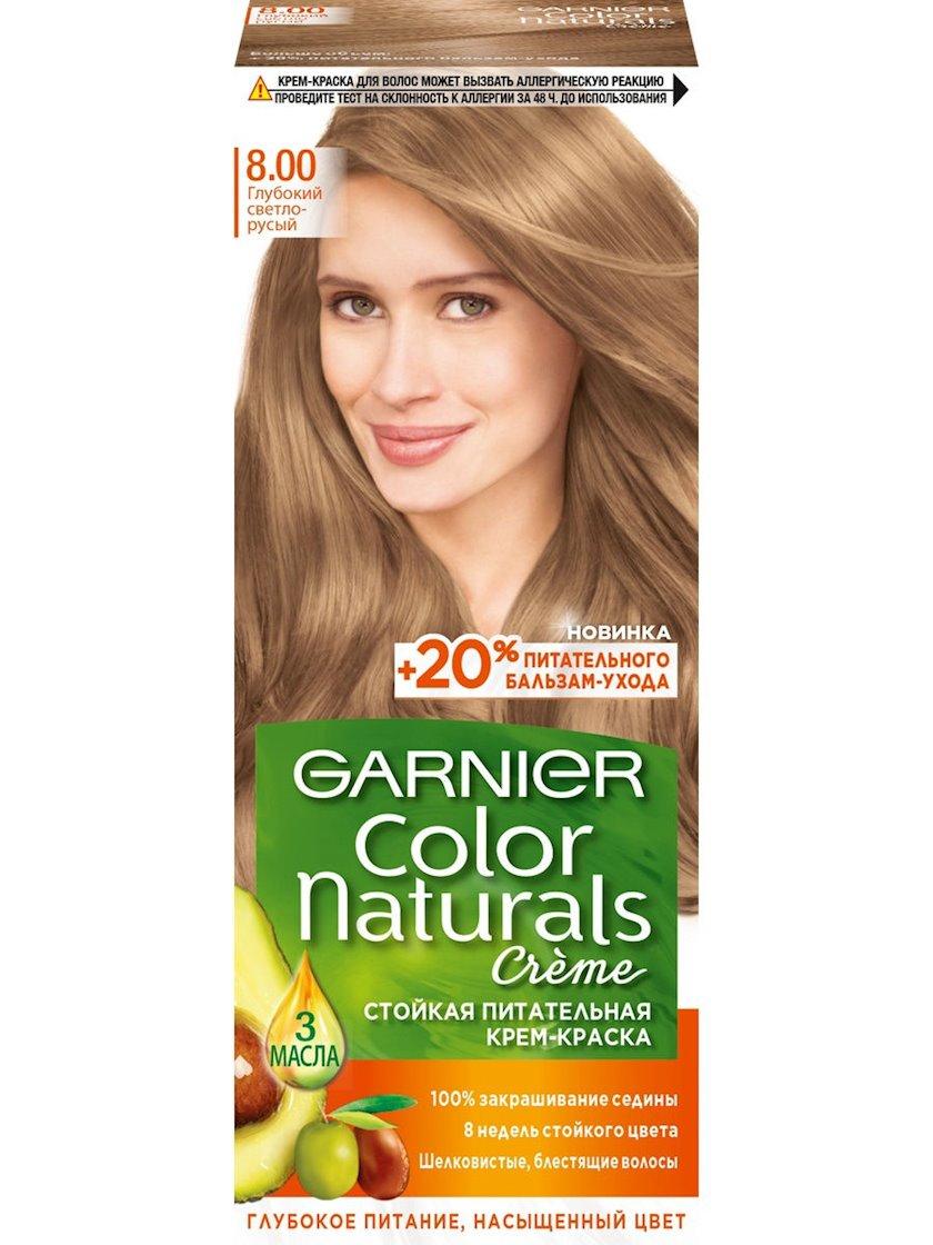 Saç üçün qalıcı krem-boya Garnier Color Naturals 8.00 Dərin açıq sarışın