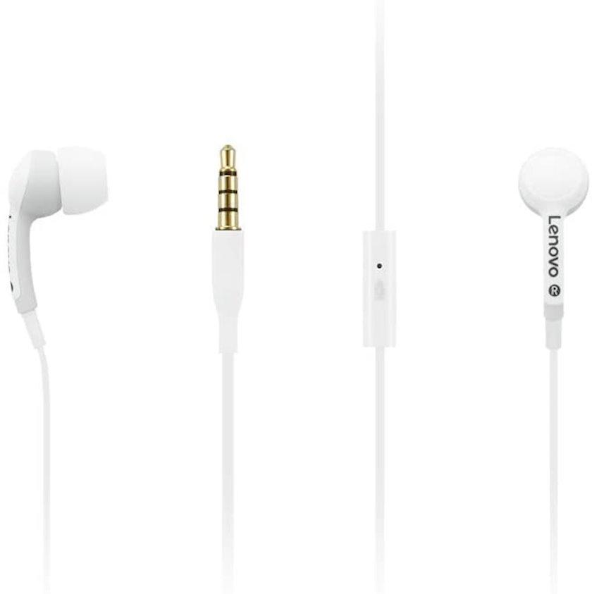 Qarnitur Lenovo 100 In-Ear Headphone White