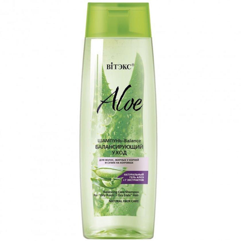 Şampun saçlar üçün  Витэкс Aloe Tarazlayıcı Baxım 400 ml