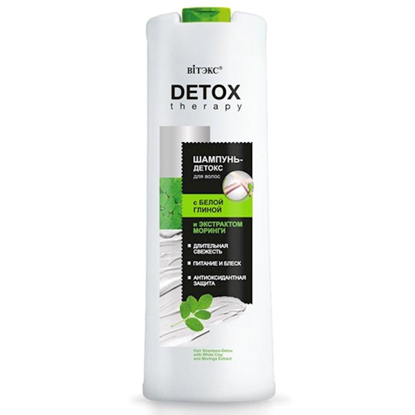 Şampun-detoks saçlar üçün Витэкс Detox Therapy Ağ Gil ilə 500 ml