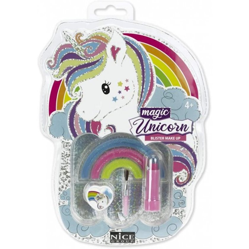 Uşaq dodaq balzamı Nice Magic Unicorn Blister Make Up, 4+ yaş