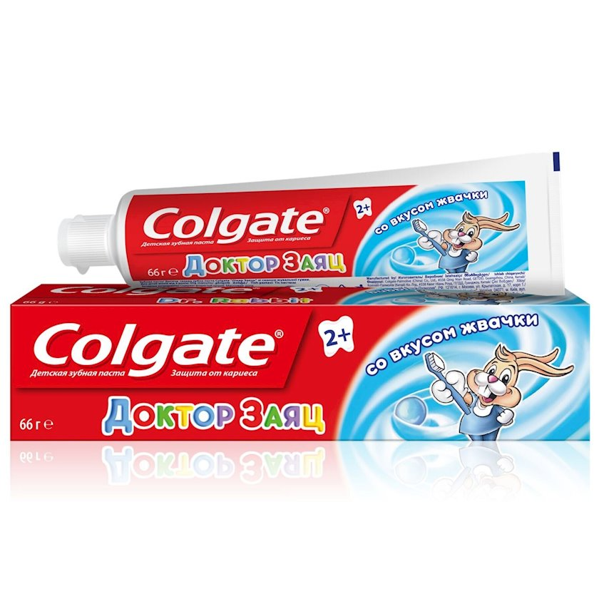Diş pastası uşaqlar üçün Colgate Doktor Dovşan saqqız dadıyla, 50 ml