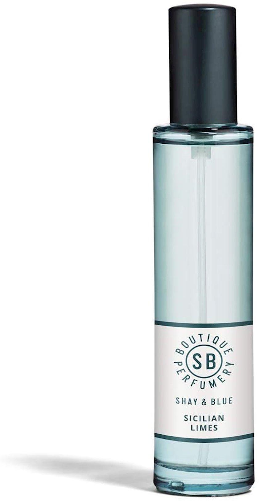 Ətir suyu Shay & Blue Sicilian Limes Natural Spray Fragrance Eau de Parfum 30 ml
