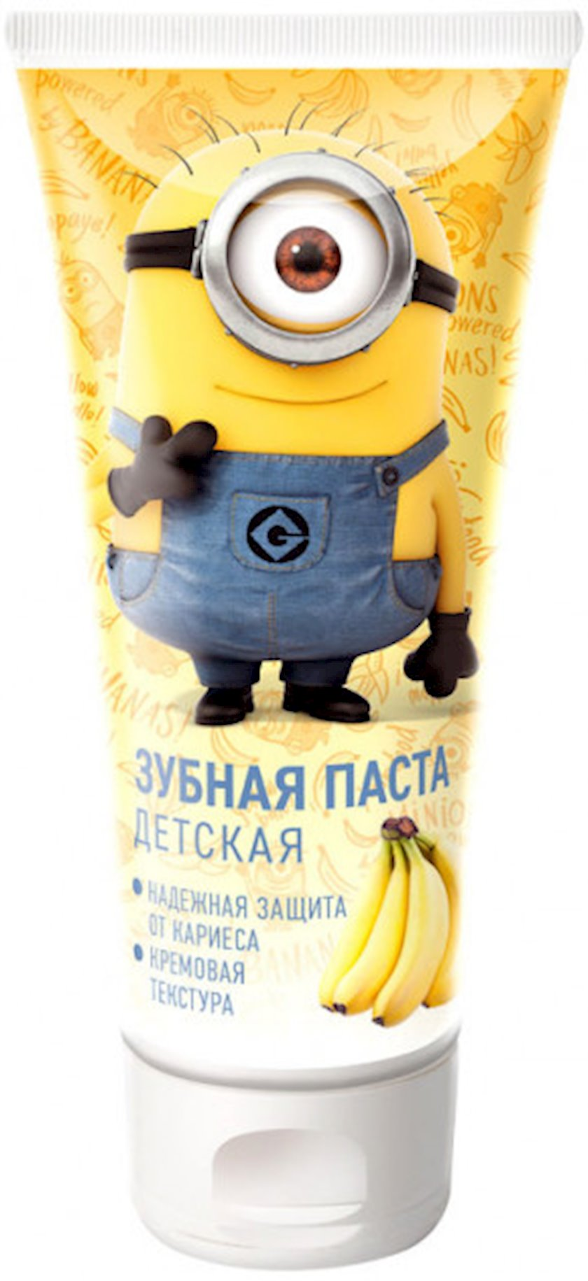 Diş pastası uşaqlar üçün Clever Company Гадкий Я banan dadıyla 60 q