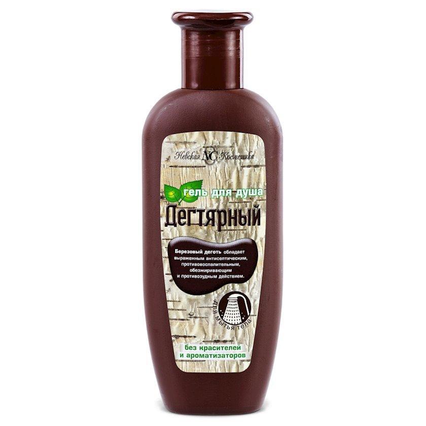 Gel duş üçün Невская Косметика Qatranlı 250 ml