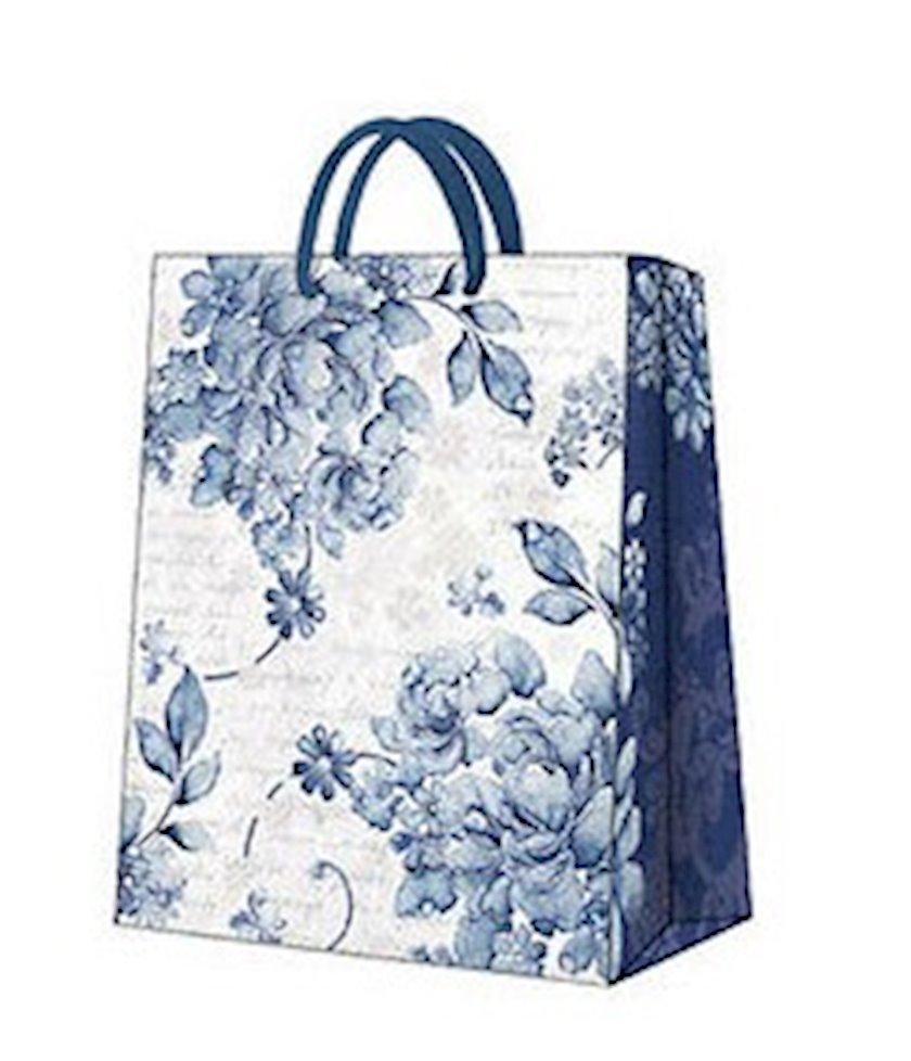 Hədiyyə paketi Paw Linen roses med, 20x25x10 sm