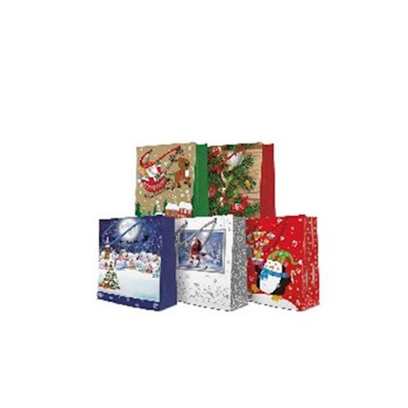 Hədiyyə paketi Paw Tat Mix medium 2 20x10x25 sm