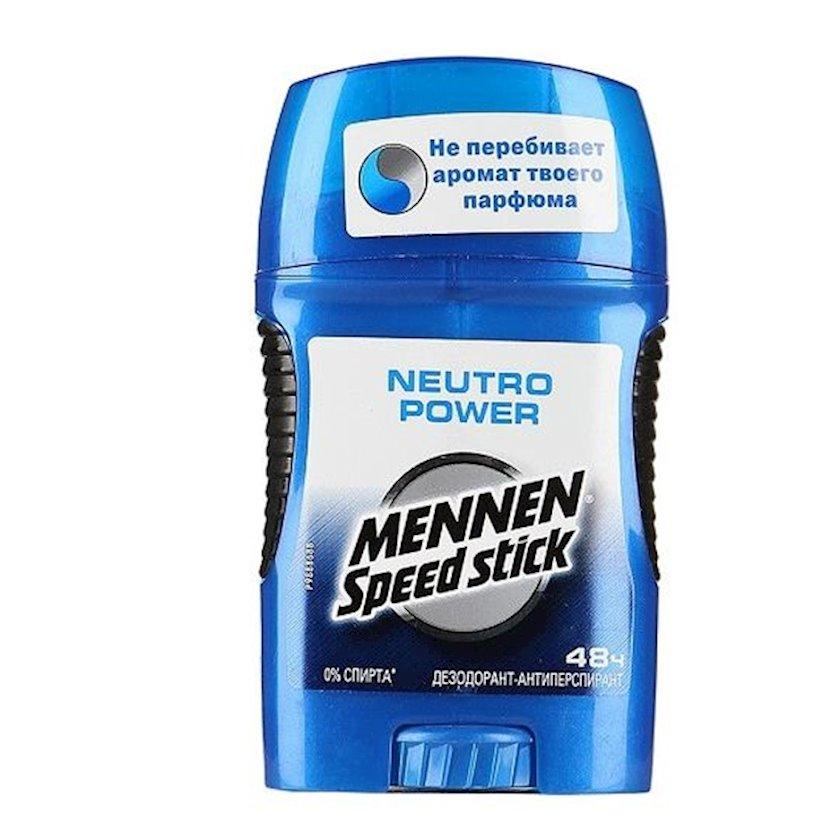 Dezodorant-antiperspirant  Mennen Speed Stick Neutro Power 50 q