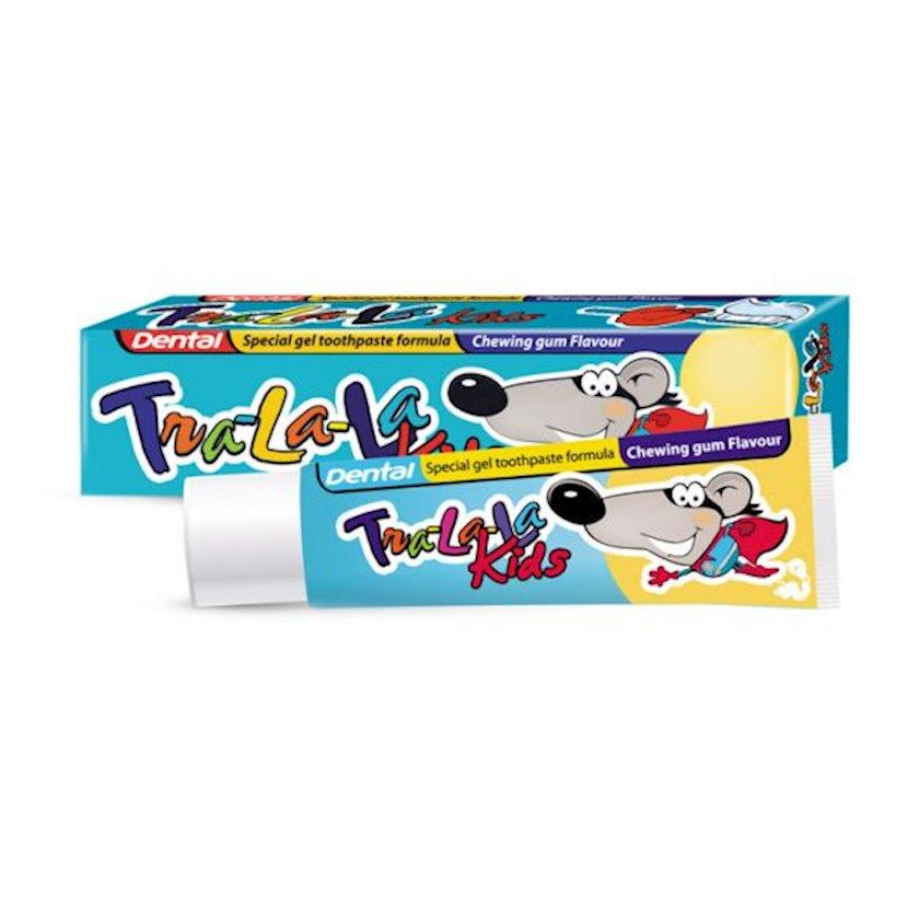 Uşaq diş məcunu Dental Tra-La-La Kids Chewing Gum, 50 ml