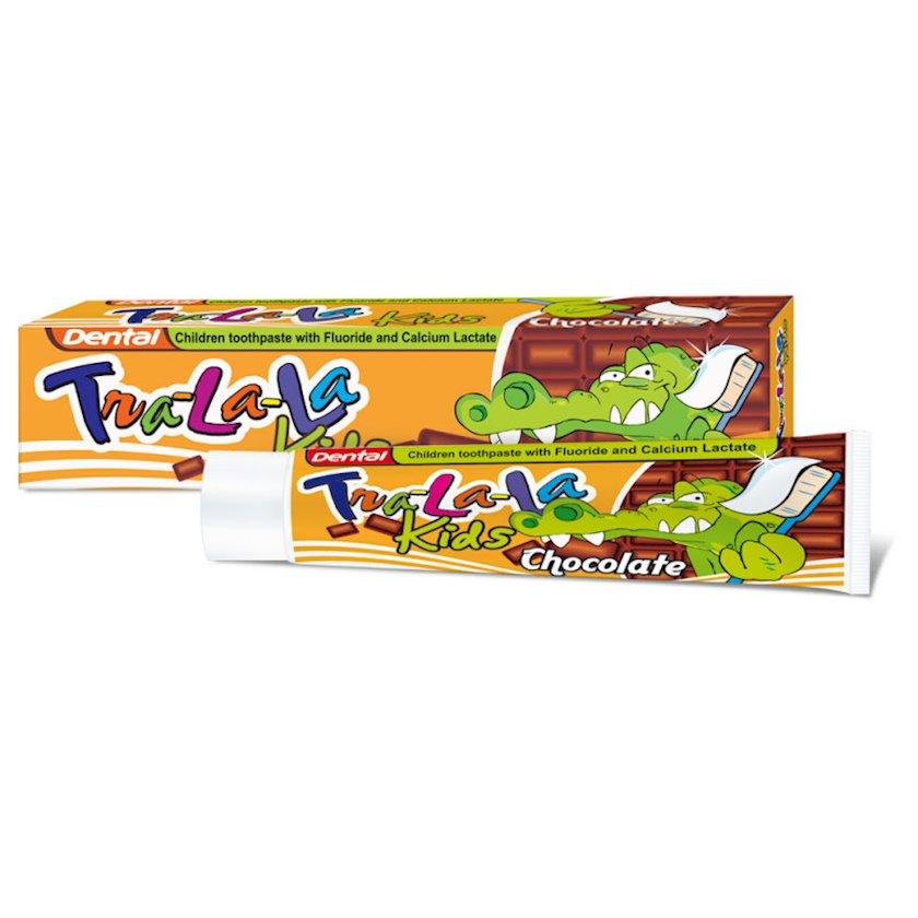 Uşaq diş məcunu Dental Tra-La-La Kids Chocolate, 50 ml