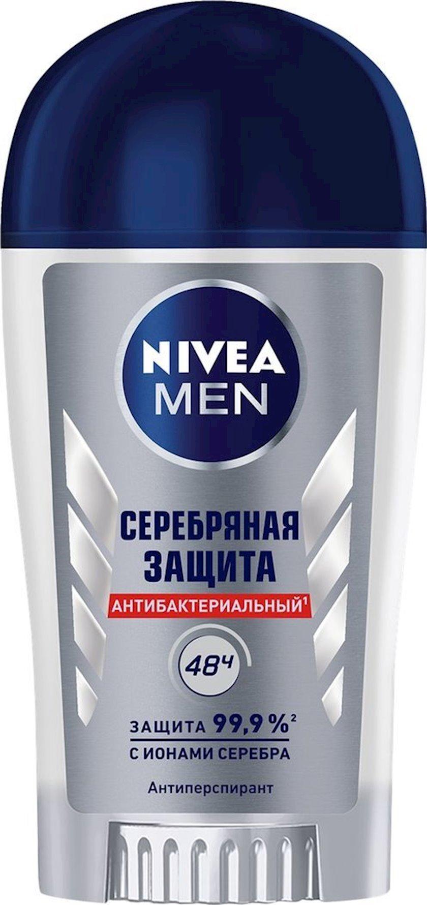 Antiperspirant çubuq Nivea Men Gümüşü müdafiə  40 ml