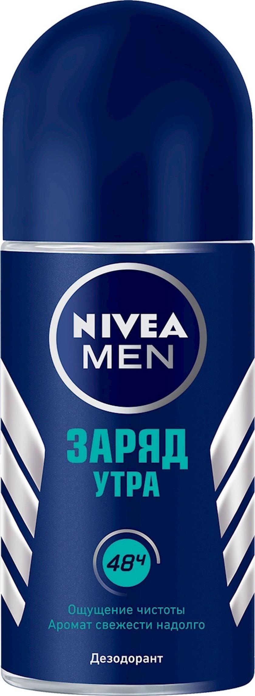 Dezodorant diyircəkli  Nivea Men Səhər enerjisi 50 ml