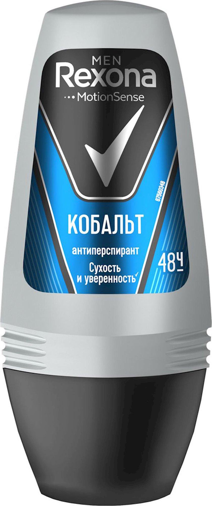Antiperspirant diyircəkli Rexona Motion sense Cobalt 50 ml