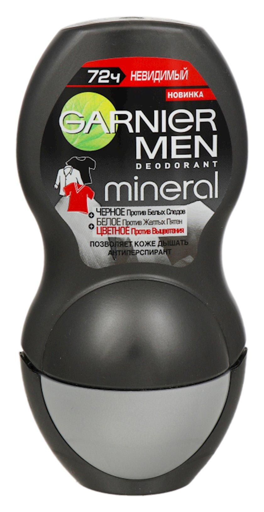 Antiperspirant diyircəkli  Garnier Men Mineral Görünməz 50 ml
