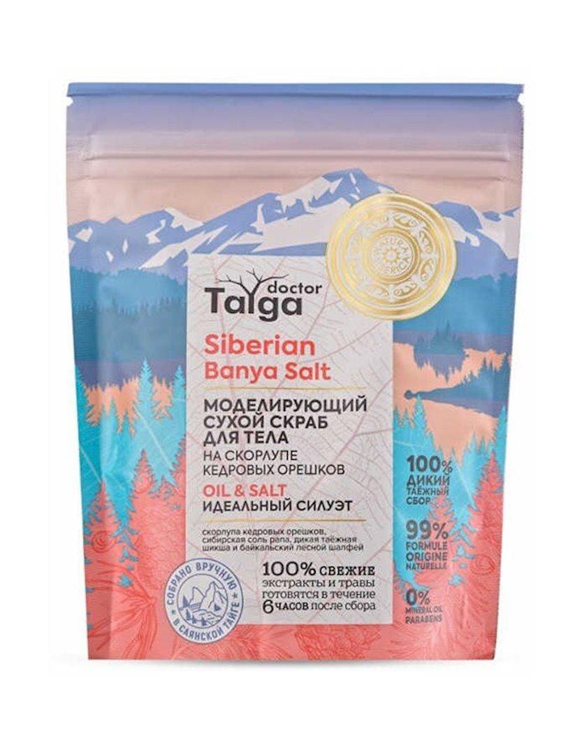 Bədən üçün skrab сухой Natura Siberica Doctor Taiga Oil-Salt, 250 ml