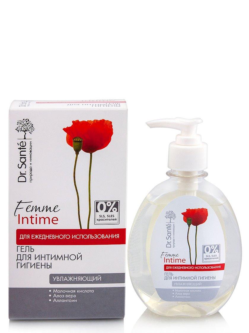 Gel intim gigiyena üçün Dr.Sante Femme Intime Nəmləndirici 230 ml