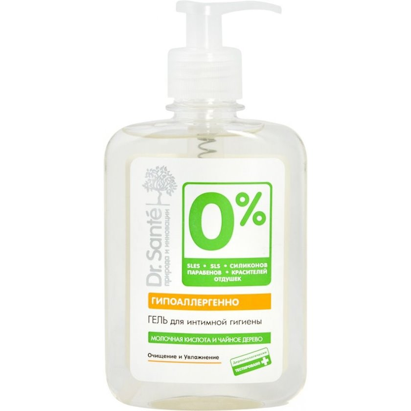 Gel intim gigiyena üçün Dr. Sante 0% 250 ml