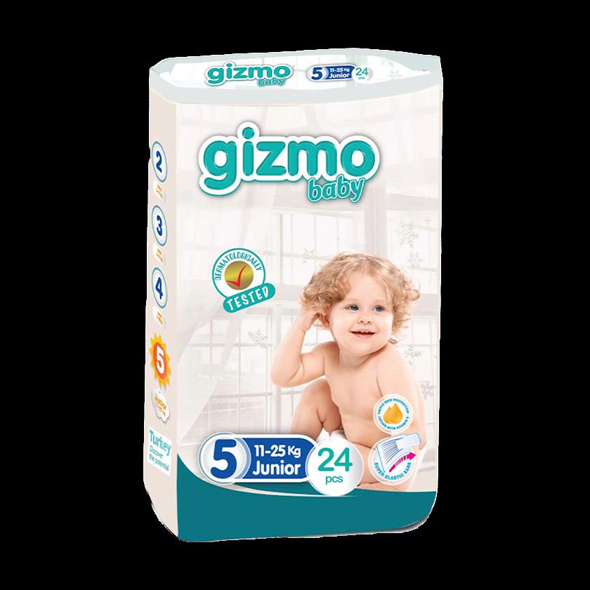 Bezlər körpələr üçün Gizmo Baby 5(11-25 kq), 24 əd