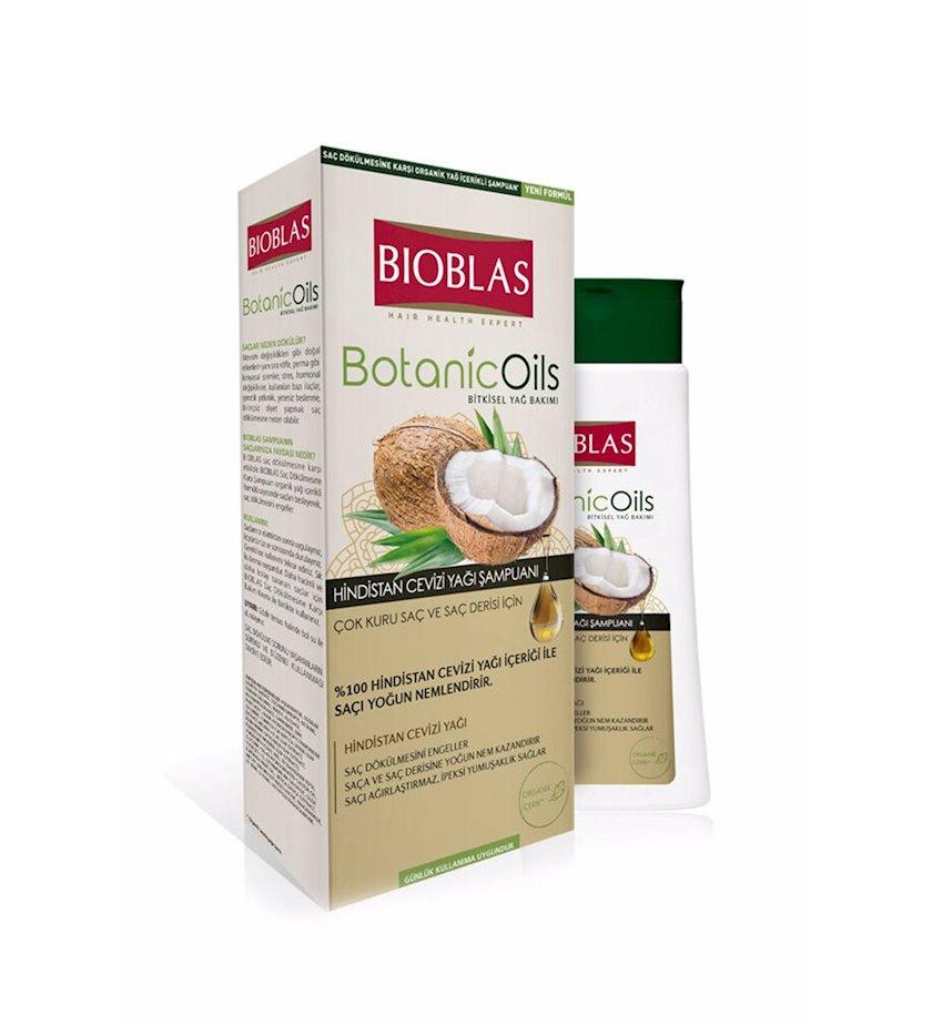 Şampun Bioblas Botanic Oils Çox Quru Saçlar üçün Kokos Yağı 360 ml