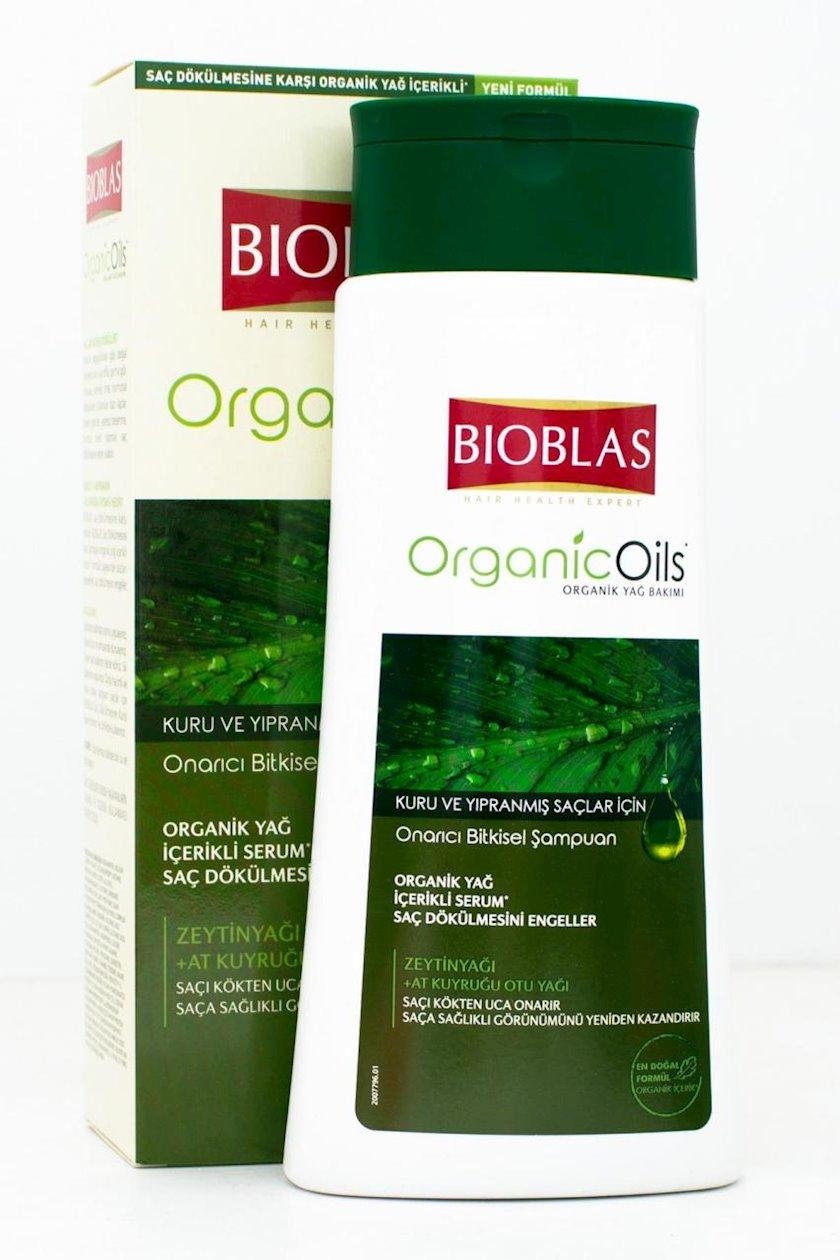 Şampun Bioblas Botanic Oils Quru və Zədələnmiş Saçlar üçün Zeytun Yağı 360 ml