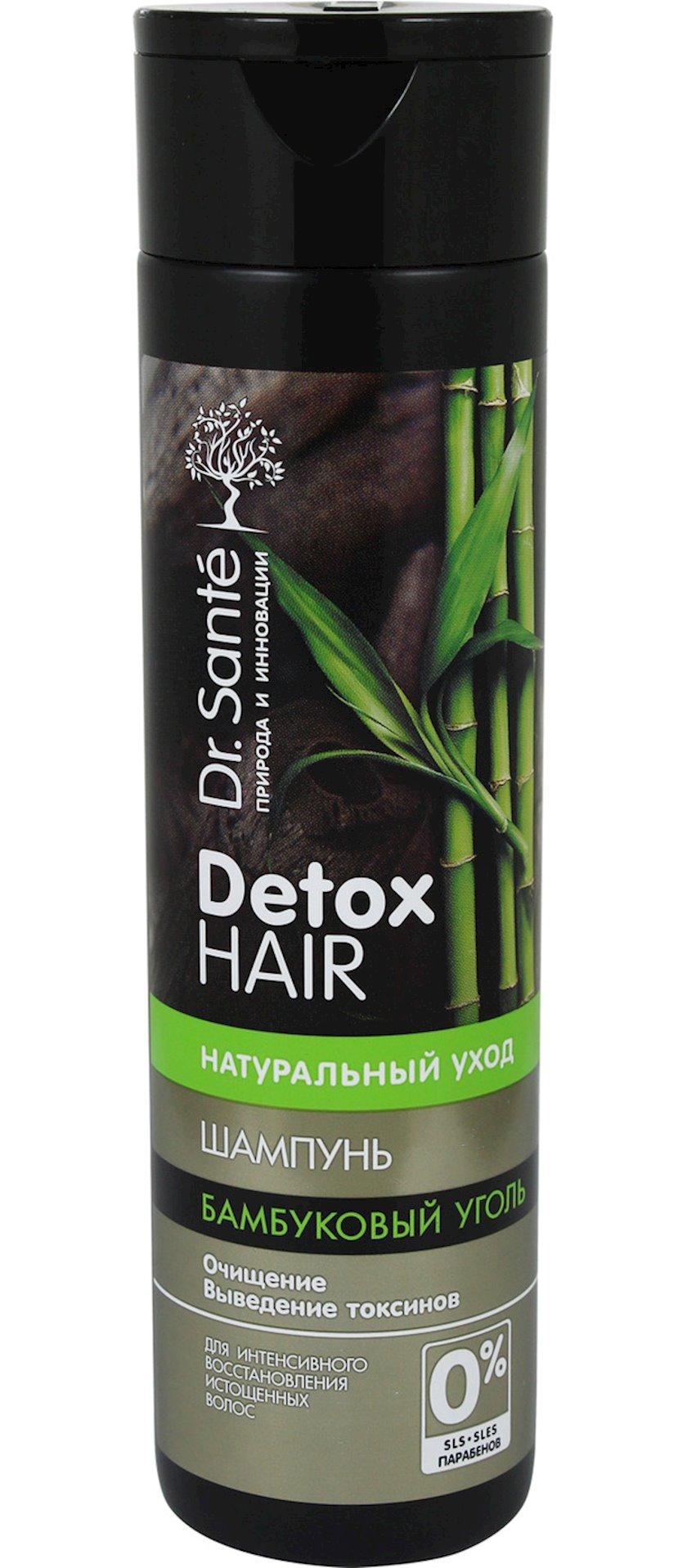 Şampun Dr.Sante Detox Hair İncə Saçlar üçün Bambuk Kömürü 250 ml