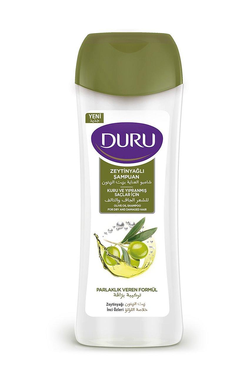 Şampun Duru Zeytun yağı Quru və Zədələnmiş Saçlar üçün 600 ml