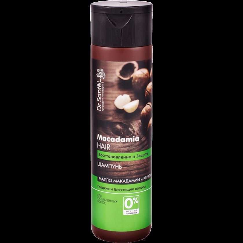 Şampun Dr.Sante Macadamia Hair Zəifləmiş Saçlar üçün 400 ml