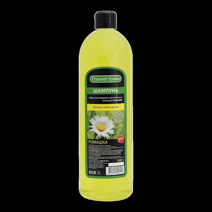 Şampun Родные травы Çobanyatığı Bütün Saç Növləri üçün 1000 ml