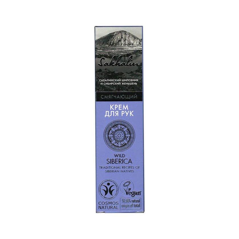 Əl üçün krem Natura Siberica Sakhalin yumşaldıcı, 75 ml