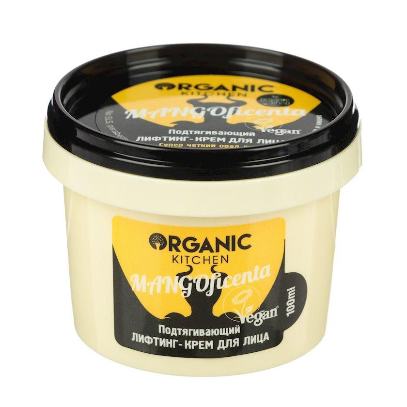 Liftinq-krem üz üçün Organic Shop Organic Kitchen Daraldıcı Mangoficenta, 100 ml